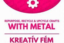 Metal upcycling crafts & tin can crafts // Fém újrahasznosítás / Metal upcycling crafts & tin can crafts For more craft ideas visit our site: http://www.mindy.hu/en ◄◄ ║ ►►  Fém újrahasznosítással kapcsolatos kreatív ötletek ( magyarra a Mindy oldalán felül tudsz váltani majd ) : http://www.mindy.hu/hu