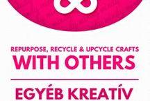 Other upcycling crafts (upcycling,repurposing) // Egyéb újrahasznosítás / Other upcycling crafts (upcycling,repurposing) ! For more craft ideas visit our site: http://www.mindy.hu/en ◄◄ ║ ►►  Egyéb újrahasznosítással kapcsolatos kreatív ötletek ( magyarra a Mindy oldalán felül tudsz váltani majd ) : http://www.mindy.hu/hu