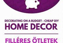 DIY Cheap home decor // Olcsó lakásdekorációs ötletek / DIY Cheap home decor! For more craft ideas visit our site: http://www.mindy.hu/en ◄◄ ║ ►► Olcsó lakásdekorációs ötletek  (Ha magyarul szeretnéd látni az ötletek leírását a Mindy oldalán: a Mindy-n a menü alatti szürke sávban az oldal tetején találhatod a nyelvváltás gombot!) Még több kreatív ötlet: http://www.mindy.hu/hu