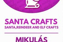Santa crafts // Mikulás ötletek és mikulás ajándékok / Santa crafts: gifts and decorations with Santa! For more craft tutorials visit our site: http://www.mindy.hu/en ◄◄ ║ ►► Kreatív ötletek Mikulásra: ajándékok és dekorációk(Ha magyarul szeretnéd látni az ötletek leírását a Mindy oldalán: a Mindy-n a menü alatti szürke sávban az oldal tetején találhatod a nyelvváltás gombot!) Még több kreatív ötlet: http://www.mindy.hu/hu