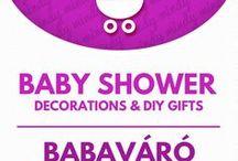 Baby shower crafts // babaváró buli ötletek / Baby shover crafts: DIY baby shower gifts & party decor! For more craft tutorials visit our site: http://www.mindy.hu/en ◄◄ ║ ►► Babaváró buli ötletek: dekorációk és ajándékok (Ha magyarul szeretnéd látni az ötletek leírását a Mindy oldalán: a Mindy-n a menü alatti szürke sávban az oldal tetején találhatod a nyelvváltás gombot!) Még több kreatív ötlet: http://www.mindy.hu/hu
