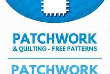 patchwork tutorials & patterns / foltvarrás minták