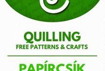 Quilling / papírcsík technika