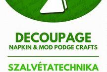 Decoupage / Dekupázs