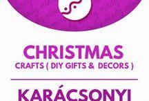 DIY Christmas gifts, crafts & decors / Karácsonyi kreatív ötletek / Christmas crafts: DIY Christmas decors & gifts! For more craft tutorials visit our site: http://www.mindy.hu/en ◄◄ ║ ►►Kézzel készült karácsonyi dekorációk és ajándék ötletek (Ha magyarul szeretnéd látni az ötletek leírását a Mindy oldalán: a Mindy-n a menü alatti szürke sávban az oldal tetején találhatod a nyelvváltás gombot!) Még több kreatív ötlet: http://www.mindy.hu/hu