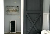 ➳ Barn Door Inspo / ::Barn Door Design Ideas:: - Decor - Home - Ideas - Inspiration *** For more tips & ideas stop by My Bella Villa on Facebook & Tumblr!