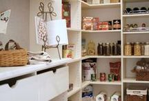 ➳ Pantry Ideas / Kitchen Edition | The Pantry - Decor - Home - Ideas - Inspiration *** For more tips & ideas stop by My Bella Villa on Facebook & Tumblr!