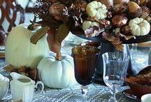 ➳ Fall Tablescapes