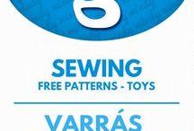Free sewing patterns - TOYS // Ingyenes szabásminták - játékok / Sewing tutorials with free sewing patterns ( toys ) ! For more craft ideas visit our site: https://www.mindy.hu/en ◄◄ ║ ►►   Ingyenes szabásminták és varrási útmutatók ( játékok és babák ) ( magyarra a Mindy oldalán felül tudsz váltani majd )  Még több kreatív ötlet: https://www.mindy.hu/hu