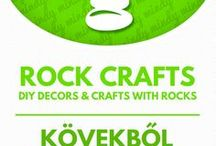 Rock Crafts - NATURE Crafts / Kreatív ötletek kövekből - kavicsokból