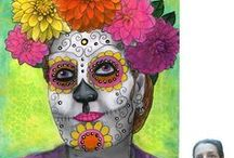 Day of the Dead / A little Day of the Dead inspiration / by Lisa Vollrath ✃