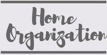 Home Organization / Home Organization | Organized Home | DIY | Family