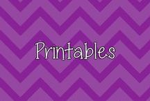 Printables / by Jam With Heather