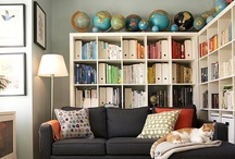 Living Rooms & Family Rooms / by Lora Green