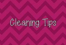 Cleaning Tips / by Heather P.