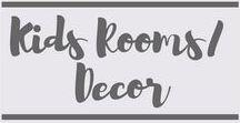 Kids Rooms/Decor / Kids Rooms | Kids Decor | Decor | Kids Bedrooms