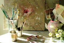 Artist & Studios / Artistas y Estudios de Arte / by Maribel Moreno