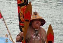 Around the Salish Sea / Victoria, BC, #yyj, Ogden Point breakwater, indigenous, nature, land, sea...