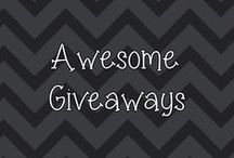 Awesome Giveaways / by Heather's Happenings