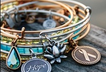 Alex & Ani Bracelets / Blooming Boutique, at all four locations - Lewes, Rehoboth Beach, Bethany Beach & Milford, all carry Alex & Ani bracelets. All about positive energy, made in the USA & eco-friendly.