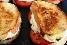 "Grilled cheesiest / One of my favorites...and my go to ""comfort"" food...Grilled cheese <3"