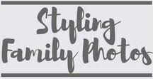 Styling Family Photos / Styling Family Photos