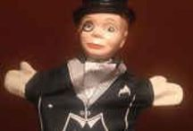 Ventriloquism Collectibles / Vintage toys and other items related to the art of ventriloquism. / by Jim Barber