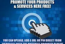 Promote Your Products & Services Here! / This is a group board that you can add your promotions to. Feel free to message me if you want to be added so you can pin. Also, make sure to link images to your affiliate link once you pin an image. View the pinned image, click on the edit pen icon when you hover over the image, then change the website link to your affiliate link. Easy peasy! ;) / by EvieB.com