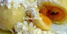 RECEPTY - SLADKÉ jídlo / recepty na buchty, koláče, kaše, sušenky ..