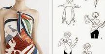 DIY oblečení, kosmetika / Návody na úpravu oblečení, vázání šátků,