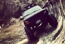 Jeepys / For the love of Jeeps! I love my 1997 XJ! / by Lauren Schores