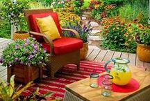 Decorating Rooms and Outdoor Spaces / by Beth Thomas