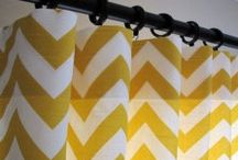Window Treatments & Shower Curtains / by Adela Gonzalez