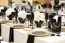 A Black and White Wedding...