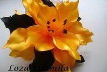 Flores tela