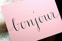 Paper Style / Stationery, Lettering, Paper