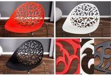 Homelike ArtLook / Nowoczesna, lekka seria stanowiąca modne połączenie trzech kolorów: czerni, bieli i czerwieni.