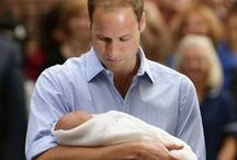 Almanach de Saxe Gotha - H.R.H. Prince George Alexander Louis of Cambridge / Prince George of Cambridge (George Alexander Louis; born 22 July 2013) is the only child of Prince William, Duke of Cambridge, and Catherine, Duchess of Cambridge, as well as the only grandchild of Charles, Prince of Wales. He is third in line to succeed his great-grandmother, Elizabeth II, to the thrones of the Commonwealth realms, following his grandfather and father.  http://www.almanachdegotha.org/id325.html