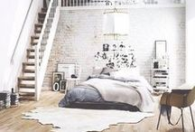 Bedrooms / a place to lay your head / by William & Park