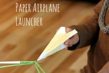 Paper Airplane Accessories / Cool Ideas to Have Even More Fun with your Paper Airplanes
