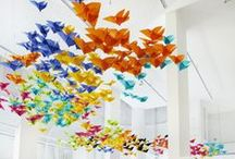 Paper Airplane Decor / Paper airplane related items for your home to please kids and grown ups alike!