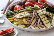 Grilling Veggie Style / We love grilling, especially with fruit and veggies!