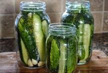 Pick a Peck of Pickles / Because it's National Pickle Month...and because pickles are made from fresh fruit and vegetables!