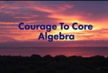 CTC: Courage To Core Algebra and Geometry / Algebra and Geometry lessons on Teachers Pay Teachers from Courage To Core