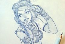 Drawing things / Tings i watsh wen i dawing