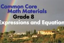 CCG8: Expressions and Equations / Work with radicals and integer exponents. Understand the connections between proportional relationships, lines, and linear equations. Analyze and solve linear equations and pairs of simultaneous linear equations.