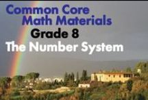 CCG8: The Number System / Common Core, Grade 8: The Number System. Know that there are numbers that are not rational, and approximate them by rational numbers.