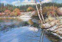landscape paintings- Josef Koutný / landscape paintings