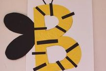 Explore Bees / Bee arts and craft activities. Lesson ideas for classroom and homeschool teachers.