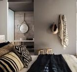 Bedroom Decor ideas / Linnen, wall colours, lighting, wardrobes and bedroom accessories